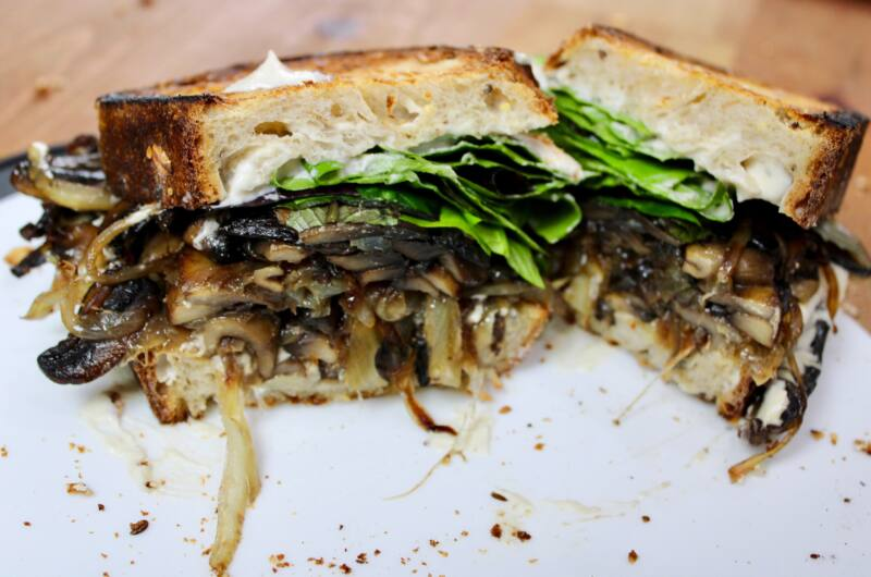 Vegan Umami Mushroom Sandwich