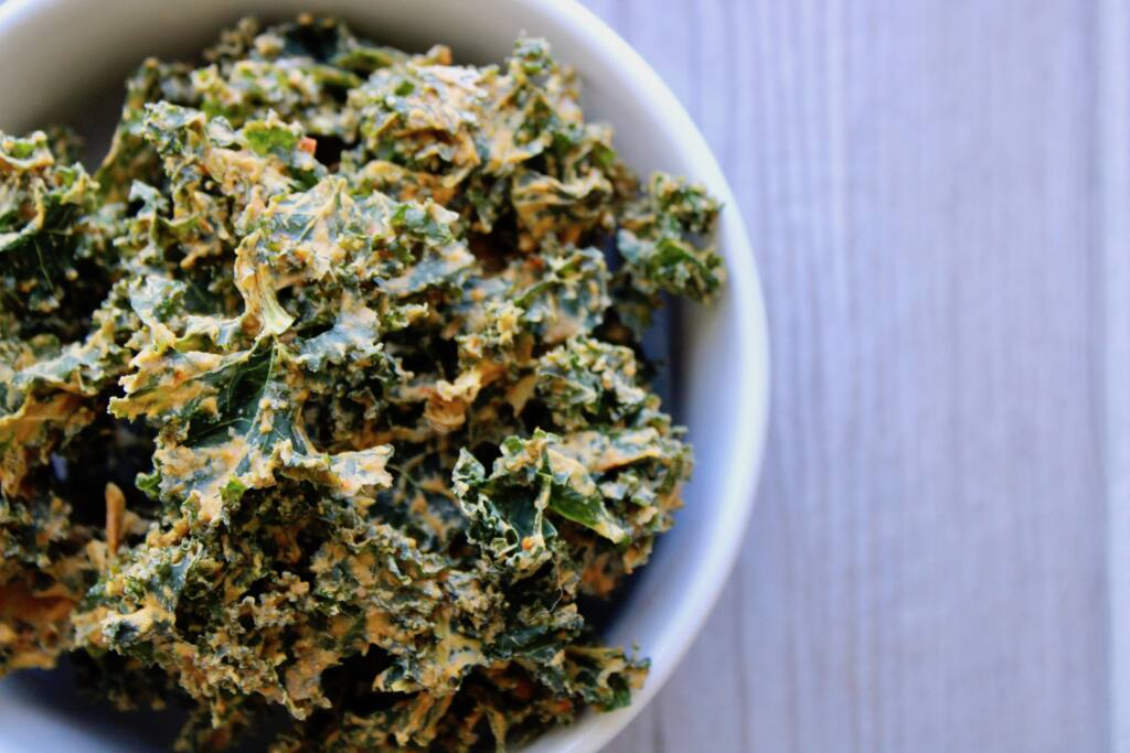 cheesy kale chip recipe