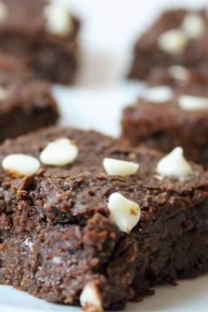 Vegan Black Bean Brownies