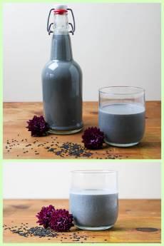 Black Sesame Seed Milk