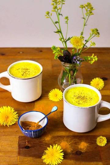 Vegan Golden Milk Latte