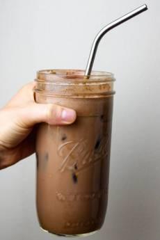 Spicy Iced Mocha: Dairy & Coffee Free