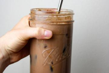Spicy Iced Mocha: Dairy & Coffee Free