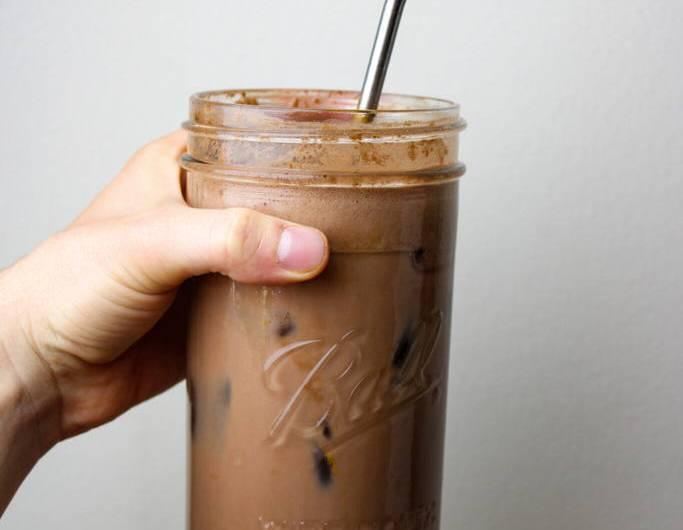 Spiced Iced Mocha, Coffee Free