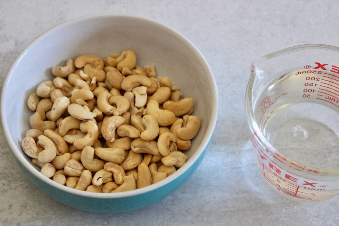 how to soak cashews