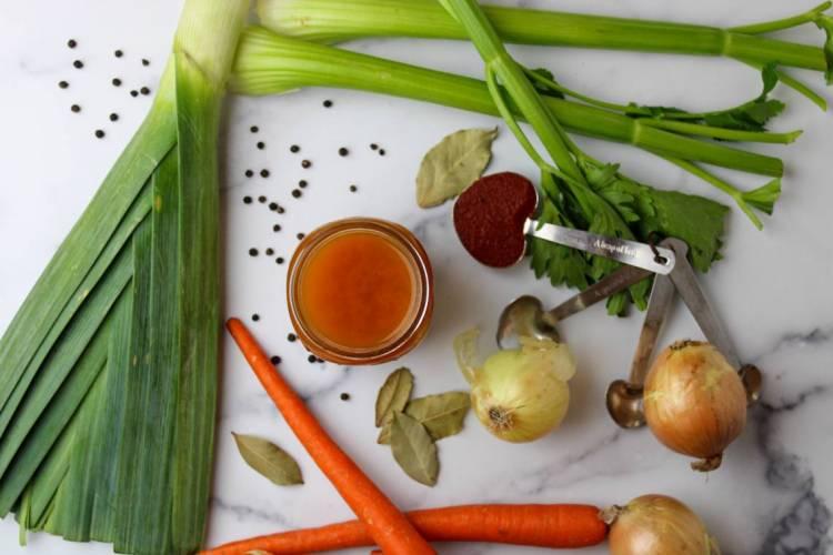 vegan vegetable stock ingredients