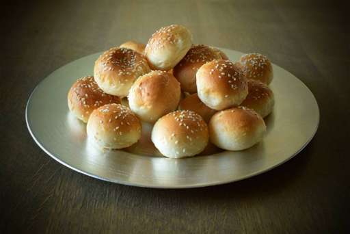 Bread Rolls with Sesame Seeds