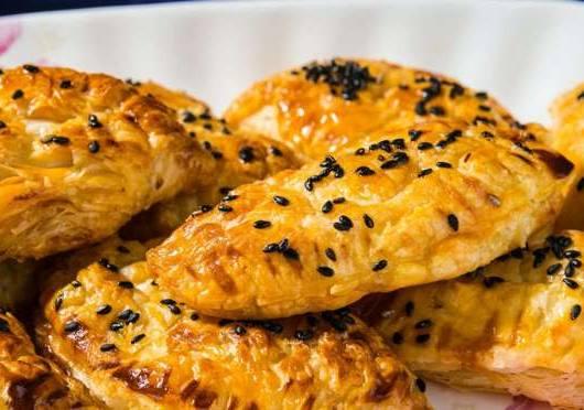sesame seed pastries