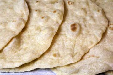 Vegan Homemade Flour Tortillas