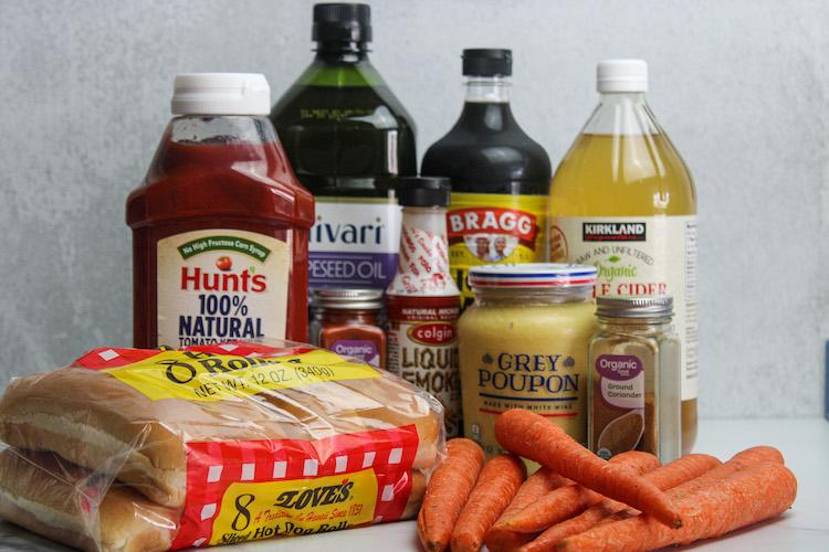 carrot dog ingredients