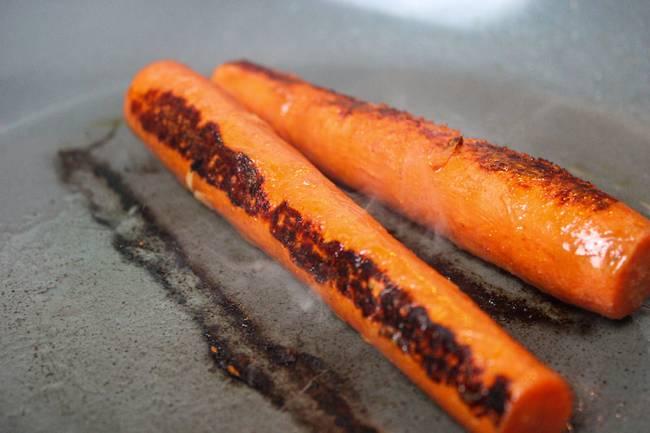 seared carrots