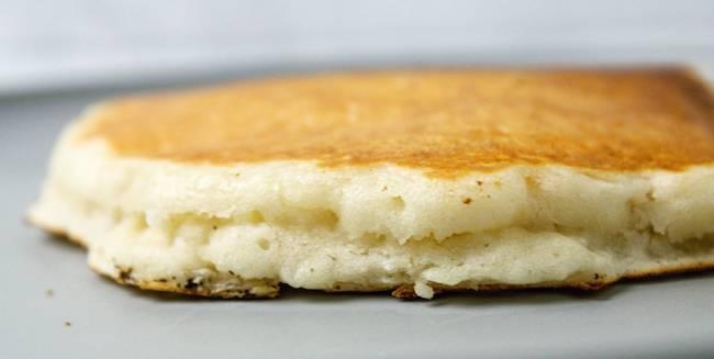 fluffy vegan pancakes