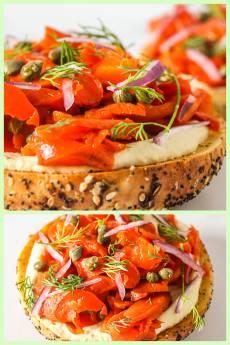 Vegan Lox From Carrots