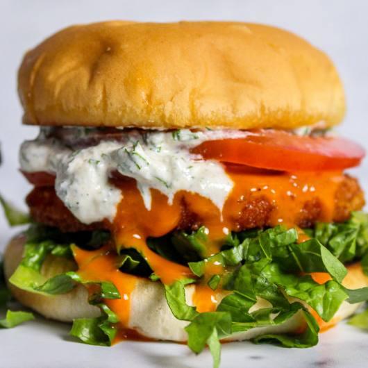 vegan burger ranch dressing